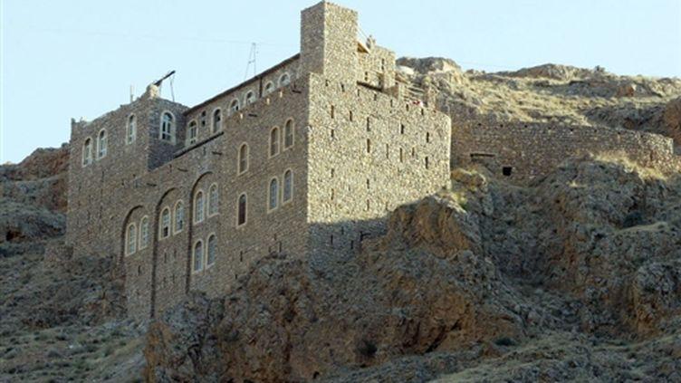 Le monastère chrétien de Mar Moussa, vieux de 900 ans, à 80 km au nord de Damas (AFP - LOUAI BESHARA)