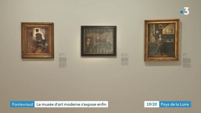 Expo musée d'art moderne Fontevraud