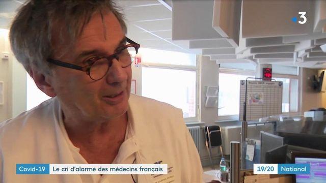 Coronavirus : le cri d'alarme des médecins français