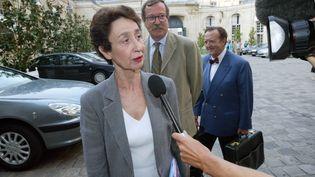 Françoise Forette s'imagine présidente en mai prochain (MEHDI FEDOUACH / AFP)