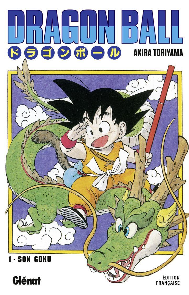 """La couverture du premier tome de """"Dragon Ball"""" publié en France aux éditions Glénat en février 1993. (AKIRA TORIYAMA / GLENAT)"""