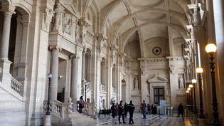 Le palais de justice de Paris, photographié le 28 janvier 2013. (THOMAS SAMSON / AFP)