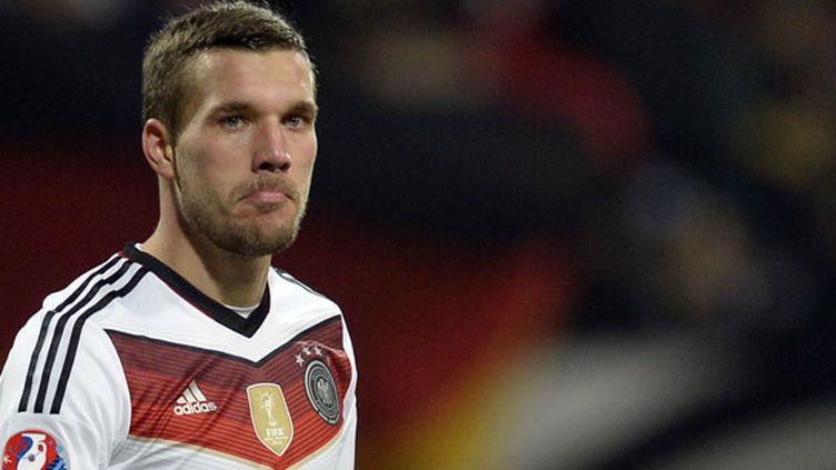 Le joueur allemand Lukas Podolski