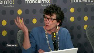 Isabelle Autissier, présidente du WWF France, sur franceinfo le 5 mars 2019. (FRANCEINFO)