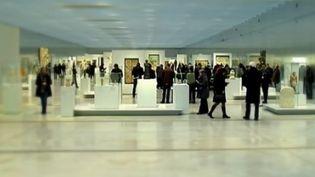 Le musée du Louvre Lens attire de nombreux touristes. (CAPTURE D'ÉCRAN FRANCE 2)