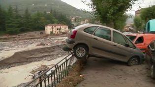 Alpes-Maritimes : les opérations de secours se poursuivent après les inondations (FRANCE 2)