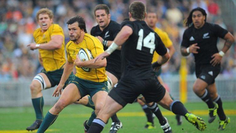 Adam Ashley-Cooper (Australie) face à Cory Janes (Nouvelle-Zélande)
