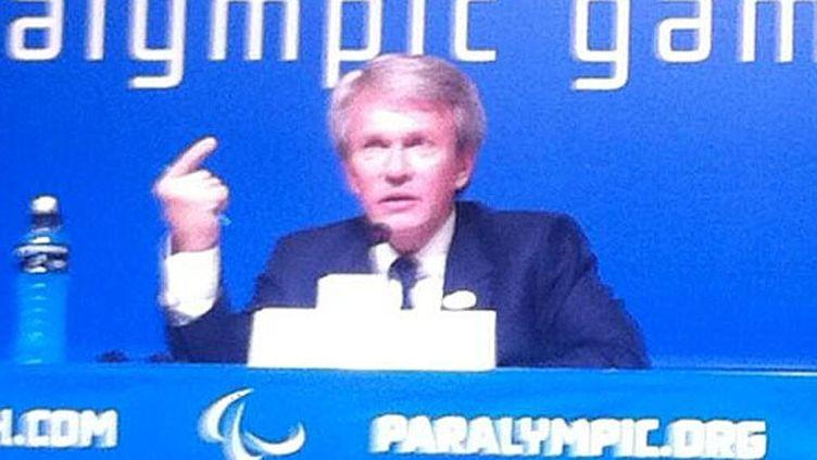 Le président du Comité paralympique ukrainien, Valeryi Shushkevich