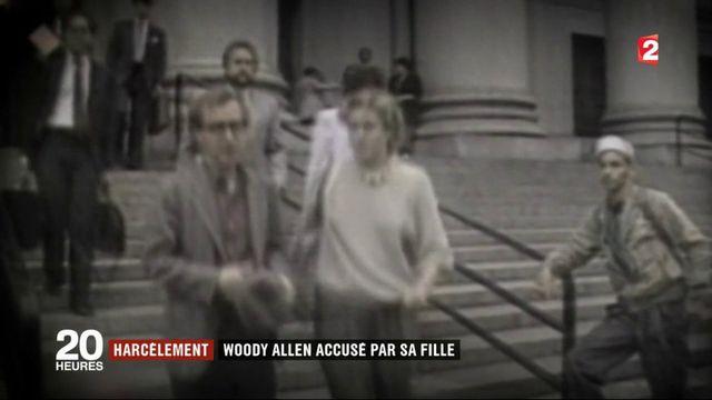 Harcèlement : Woody Allen accusé par sa fille