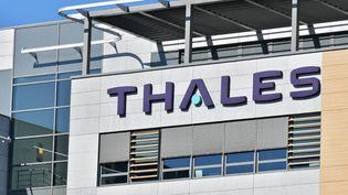 La compagnie française THALES. (DANIEL PIER / NURPHOTO / AFP)