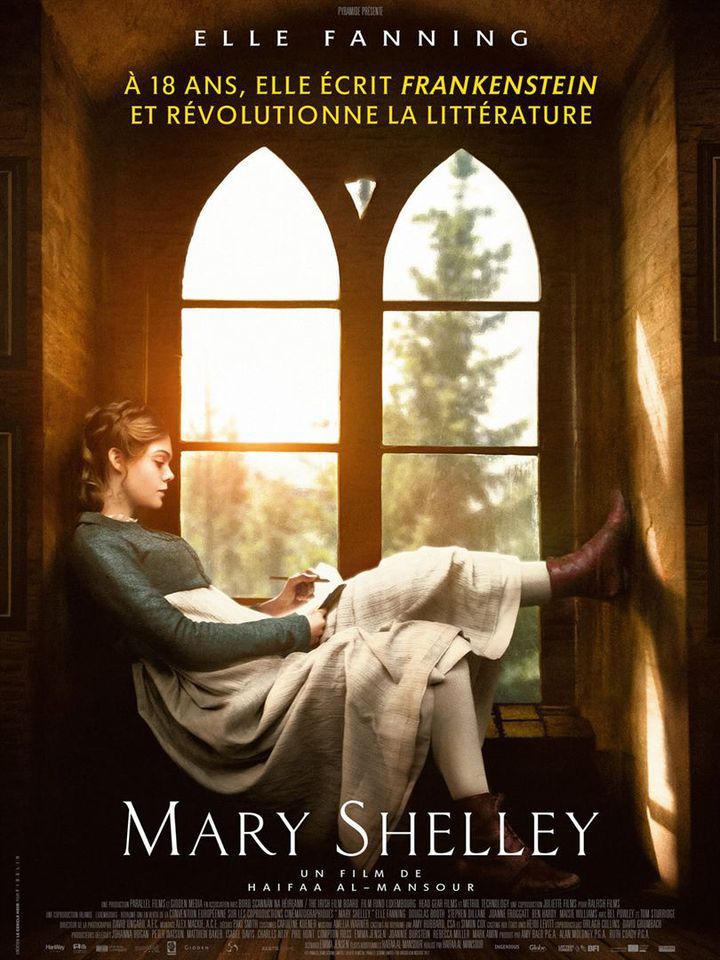 """""""Mary Shelley """" : l'affiche  (Payramide Distribution)"""