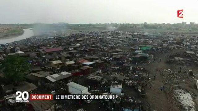 Ghana : le cimetière des ordinateurs