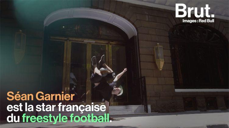 Pour Séan Garnier, le vrai football n'est pas celui qui est joué dans les stades. (BRUT)