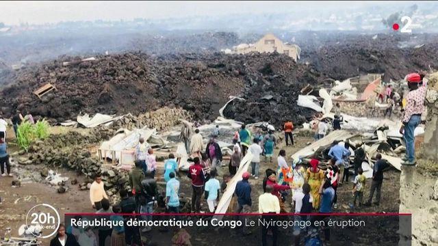République démocratique du Congo : le Nyiragongo est entré en éruption
