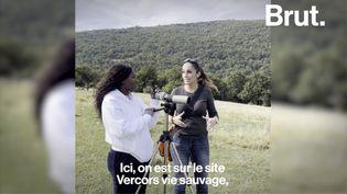 VIDEO. Avec Fatou Guinea dans la réserve de vie sauvage du Vercors (BRUT)