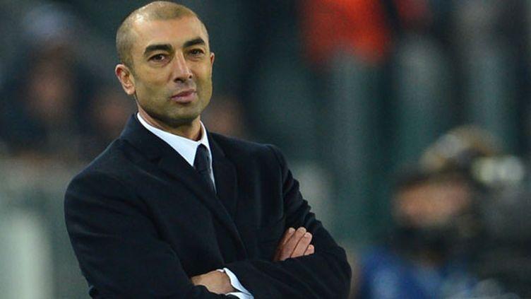 L'entraîneur italien Roberto Di Matteo