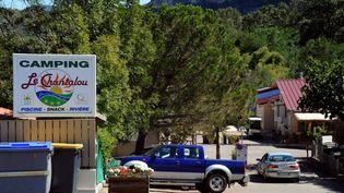 C'est dans ce camping de Saint-Didier-sous-Aubenas (Ardèche) qu'une petite fille de 11 ans a été agressée le 8 août 2012. (PHILIPPE DESMAZES / AFP)