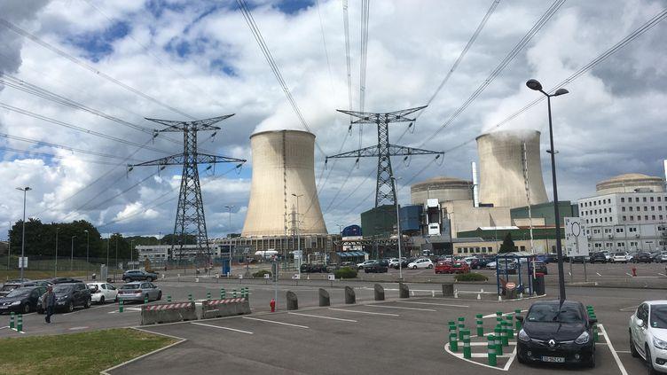 Centrale nucléaire de Cattenom (Moselle). Photo d'illustration. (VIANNEY SMIAROWSKI / FRANCE-BLEU CHAMPAGNE / RADIO FRANCE)