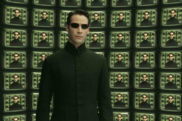 "Keanu Reeves dans le rôle de Neo dans ""Matrix Reloaded"" en 2003. (WARNER BROS. FRANCE)"