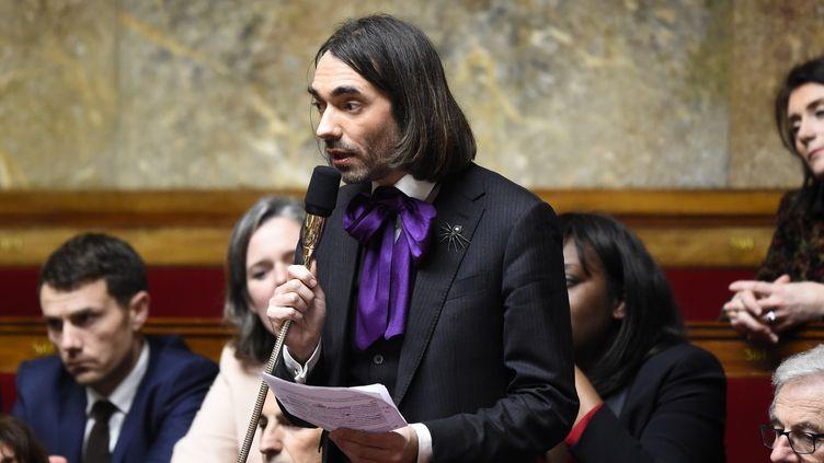 Le député La République en marche et mathématicien, Cédric Villani, le 14 février 2018. (BERTRAND GUAY / AFP)
