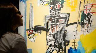 """""""Warrior"""", Basquiat, Vente chez Sotheby's à Londres en 2012"""