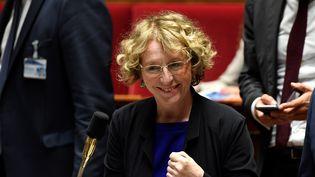 La ministre du Travail, Muriel Pénicaud, le 10 juillet 2017 à l'Assemblée nationale à Paris. (BERTRAND GUAY / AFP)