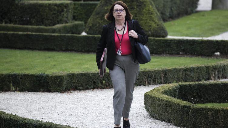 La députée Mireille Clapot à Paris le 8 novembre 2017. (MAXPPP)