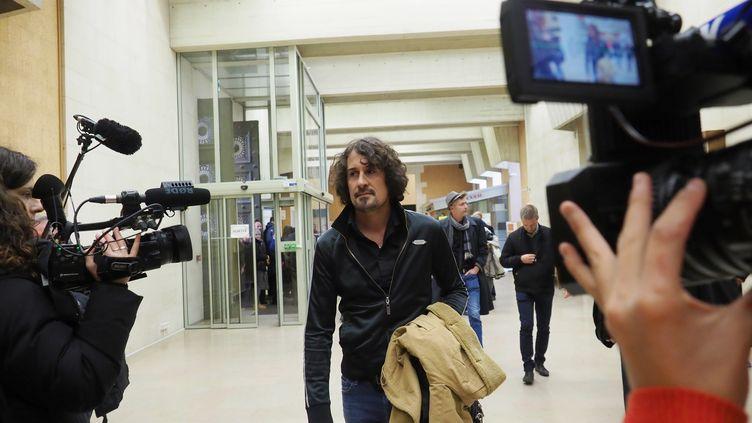 Olivier Savignac, au tribunal correctionnel d'Orléans (Loiret), le 30 octobre 2018. (GUILLAUME SOUVANT / AFP)