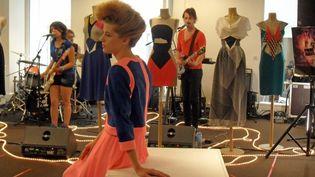 Présentation Sakina M'Sa haute couture ah 2012-2013, à Paris  (Louise Wessbecher/FTV)