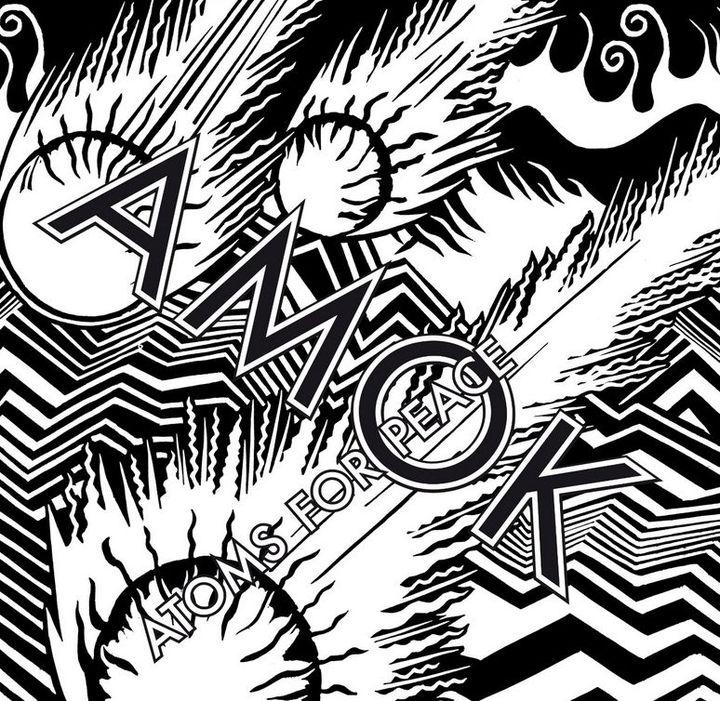 """La pochette de """"Amok"""", l'album d'Atoms For Peace  (Droits réservés)"""