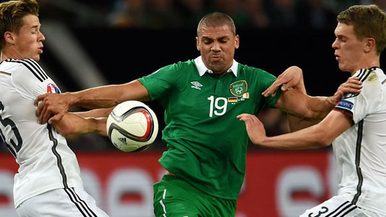 L'attaquant irlandais Jon Walters