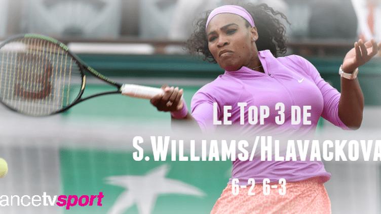 Douce balade pour Serena Williams
