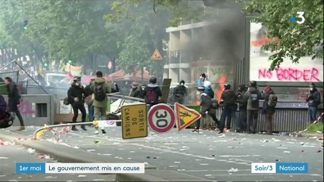 1er-Mai : après les violences du défilé à Paris, l'exécutif est montré du doigt