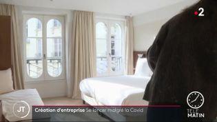L'hôtel du Sentie a ouvert en pleine pandémie de coronavirus (France 2)