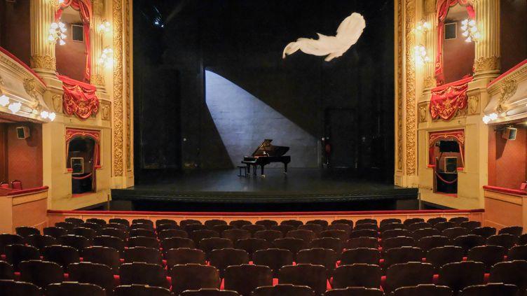 """""""Le fantôme de l'opéra"""", création du magicien Etienne Saglio à l'opéra de Rennes (Benjamin Le Bellec)"""