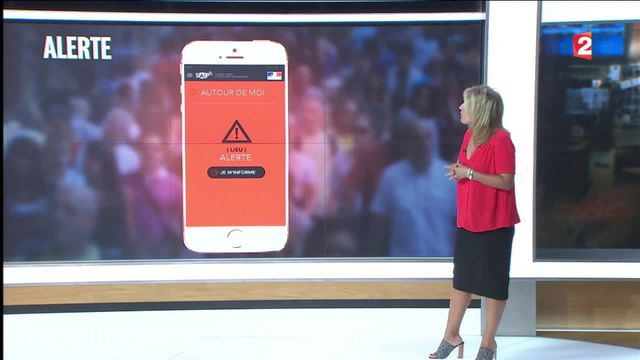 SAIP, une application pour alerter sur les risques d'attentats