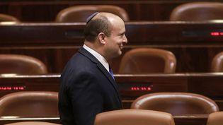 Le Premier ministre israélien Naftali Bennett au parlement (Knesset) à Jérusalemen 16 juillet 2021. (MENAHEM KAHANA / AFP)