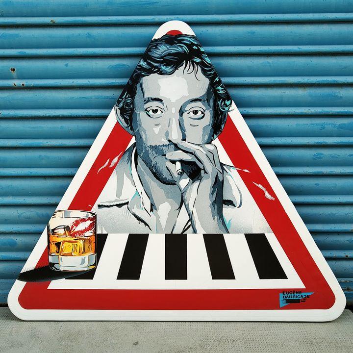 Qui va piano va sano © Eugène-Barricade, exposition Sray for us à la galerie M@G (© Eugène-Barricade)