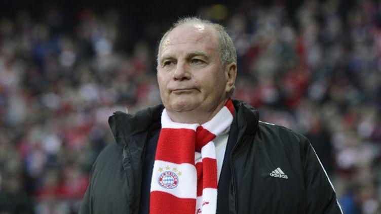 Uli Hoeness, président du Bayern Munich (CHRISTOF STACHE / AFP)