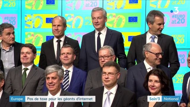 Internet : les GAFA échappent à une taxe de l'UE
