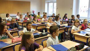Des élèves en classe lors de la rentrée scolaire 2016. (Photo d'illustration) (MAXPPP)