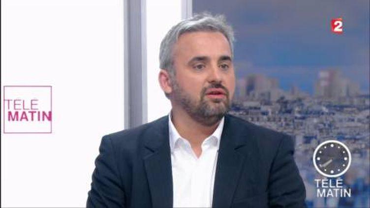 Alexis Corbière, porte-parole de Jean-Luc Mélenchon. (FRANCE 2)