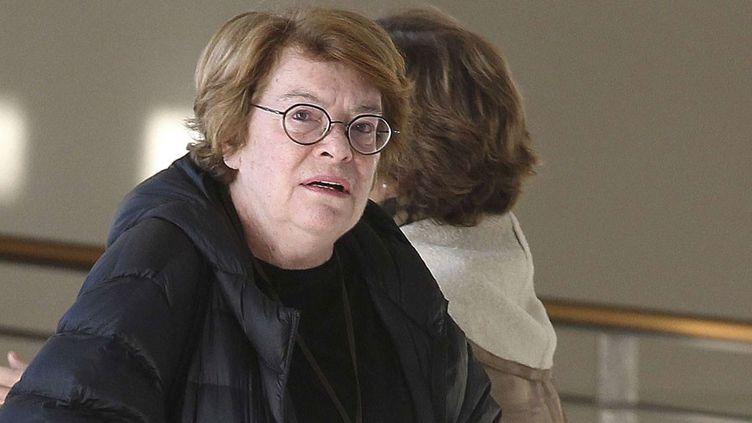 Catherine Hutin-Blay, la fille de Jacqueline Roque, deuxième épouse de Picasso  (Lionel Cironneau/AP/SIPA)