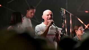 Gaétan Roussel au festival Rock de Courlans (Août 2019) (PHILIPPE TRIAS / MAXPPP)