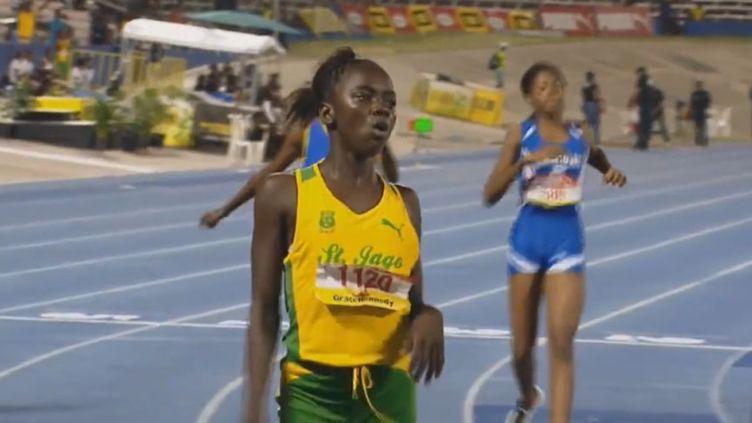 La jeune sprinteuse jamaïcaine Brianna Lyston