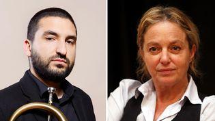 Ibrahim Maalouf le 2 mai 2014 à Paris ; Irina Brook le 8 janvier 2014 à Nice  (Baltel / Sipa ; Jean-François Ottonello / PhotoPQR / Nice-Matin / MaxPPP)
