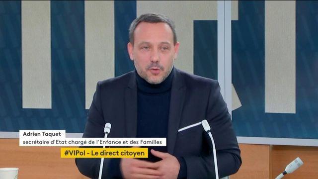 #VIPol : Adrien Taquet sur les tests salivaires