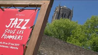 La 36e édition de Jazz sous les pommiers a débuté sous un beau soleil.  (France 3 Normandie / Culturebox)