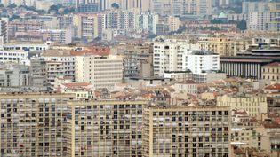 Des immeubles à Marseille (Bouches-du-Rhône), le 18 septembre 2012. (GERARD JULIEN / AFP)