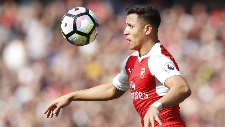 Le joueur chilien Alexis Sanchez (ADRIAN DENNIS / AFP)